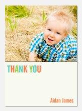 Big One Fun -  Birthday Thank You Photo Cards