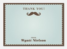 Little Man - Kids Thank You Cards