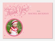 Princess Star -  Photo Thank You Cards