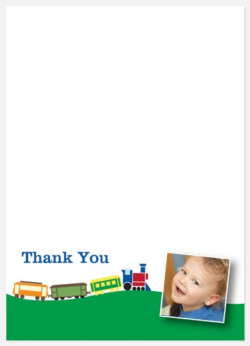 Hill 'n Dale Thank You Cards