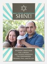 Blue Ray Hanukkah -  Hanukkah cards