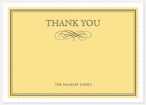 Darling Doily Thank You Cards