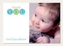 Baby Thank You Cards Simply To Impress