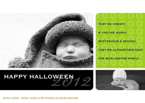 Halloween Cards, Kooky Kutie Design