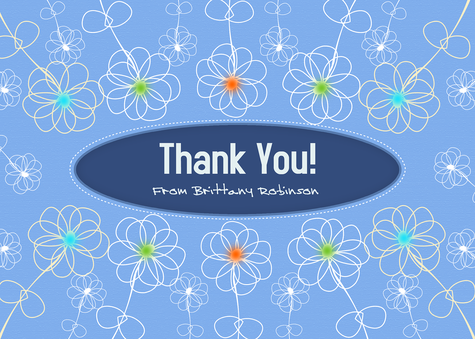 Thank You Cards , Daisy Doodle Design