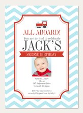 Boy Birthday Invitations Simply to Impress