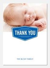 Sailor Stripe Blue -  Baby Thank You Notes