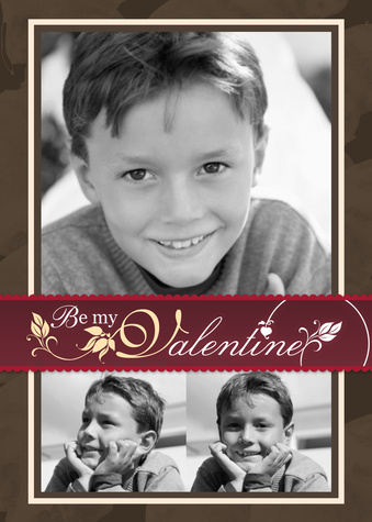 Valentines Cards, Blooming Valentine Design