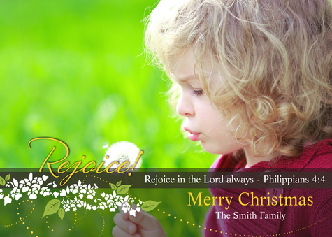 Personalized Holiday Cards, Christmas Always Design