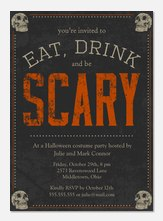 Scary Soiree - Halloween Invitations