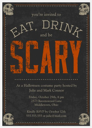 Scary Soiree