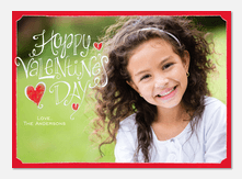 Valentine's Heart - Valentine Photo Cards