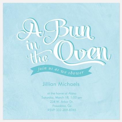 Blue Oven Bun