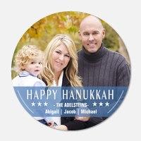 Hanukkah cards - Star Stripes