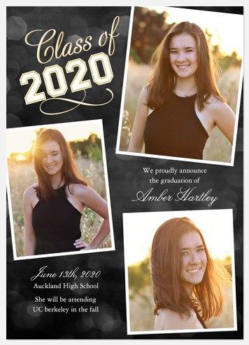 Collegiate Spirit Graduation Cards