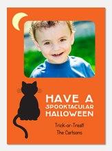 Spooktacular - halloween photo cards