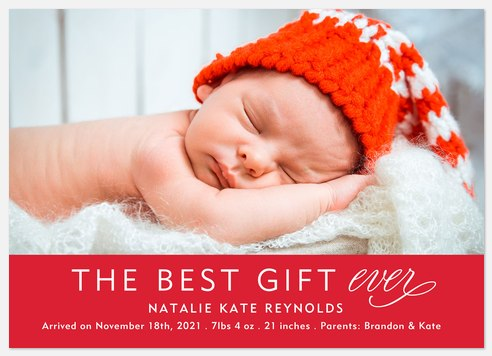 Best Gift Ever Holiday Photo Cards