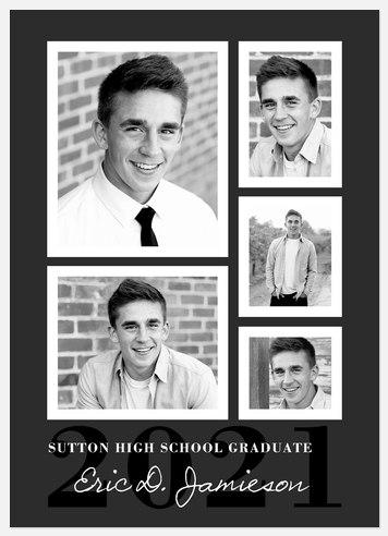 Vintage Gallery Graduation Cards