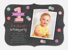 1st Birthday Invitations Photoaffections