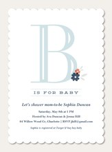 Baby Shower Invites - B is for Baby