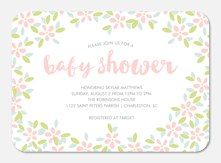 Baby Shower Invitations - Sweet Floral