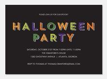 Halloween Party Invitations - Halloween Party