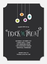 Halloween Party Invitations - Spooky Eyes