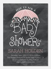 Charming Darling - Baby Shower Invitations