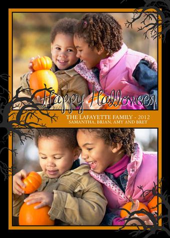 Halloween Cards, Sweet 'n Spooky Design