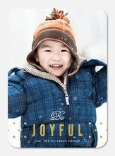 Joy & Polka Dots -  holiday cards