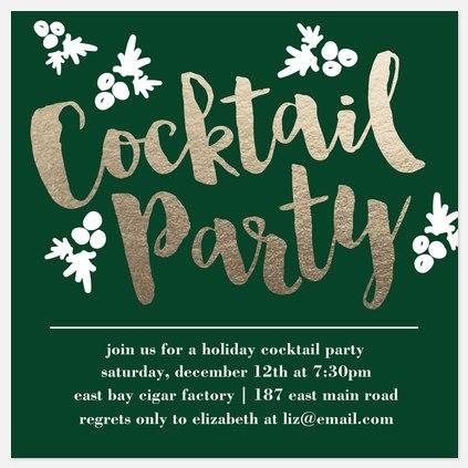 Evergreen Cocktails