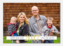 Bold New Year -  happy new years cards