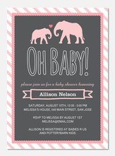 Baby Shower Invites - Mama & Baby