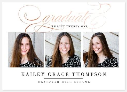 Academic Elegance  Graduation Cards