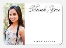 Elegant Scholar -  Photo Graduation Thank You Cards