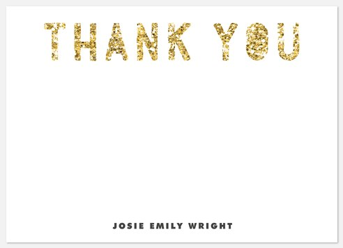 Sparkling Pride Thank You Cards