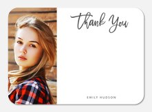 Graceful Cursive - Birthday Thank You Cards