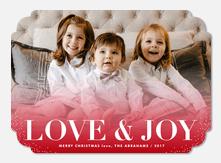 Snow Sprinkles -  christmas cards