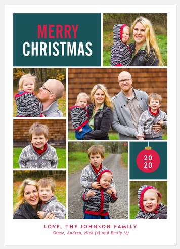 Christmas Snaps Holiday Photo Cards