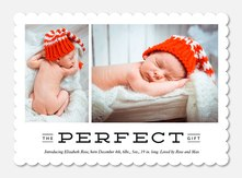 Winter's Gift -  Baby Holiday Cards