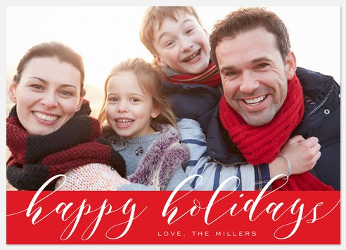Modern Merriment Holiday Photo Cards