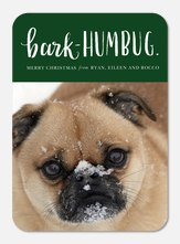 Bark-Humbug -  Pet Christmas Card