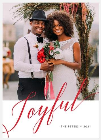Grand Joy Holiday Photo Cards