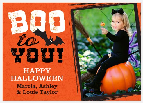 Vintag Mischief  Halloween Photo Cards