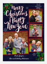 Delightful Holly - photo Christmas cards