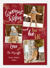 holiday cards - Woodland Foliage
