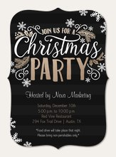 Holiday Party Invitations Simply To Impress