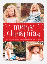 Holi Dots -  Christmas cards