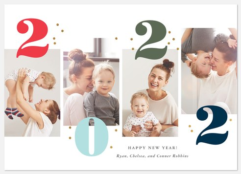 Cheerful Moments Holiday Photo Cards