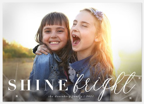 Shine Bright Hanukkah Photo Cards